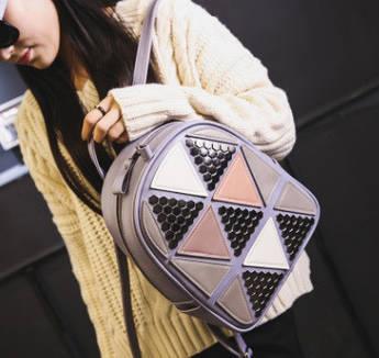 Модный рюкзак треугольник