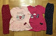 Комплект 2 в 1 для девочек оптом, Grace, 86/92-110/116 см,  № G72118, фото 1