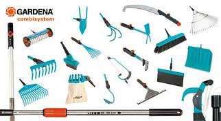 Лопати, граблі, совки, мотижки, розпушувачі