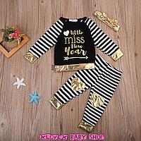 Детский костюм для новорождённой девочки Miss New Year Стильная Детская Одежда