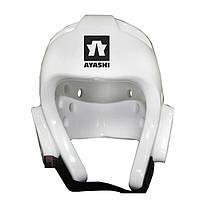 Шлем для таэквондо PU BO-2018-WTF,белый