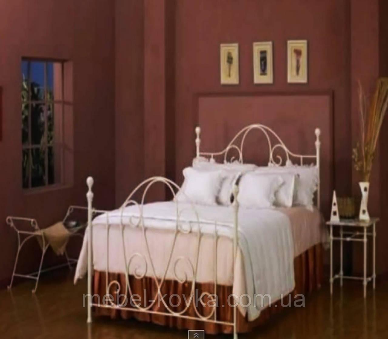 Кровать кованая 39 160х200