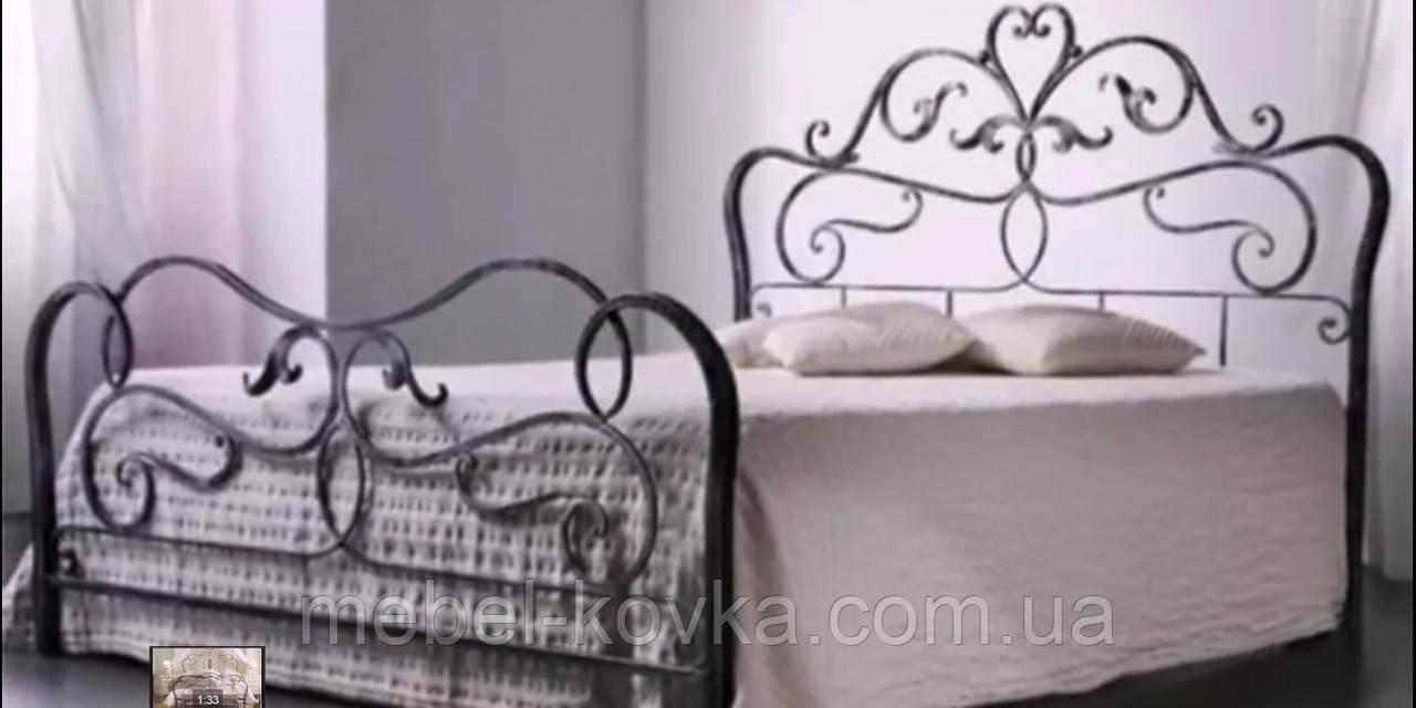 Кровать кованая 27 160х200