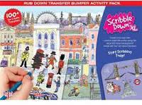 Набор переводных наклеек Scribble down с онлайн приложением Лондон (SD/19)