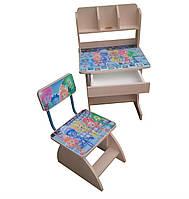 """Детский стол-парта и стул ростишка """"Фиксики"""""""
