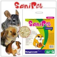 SanyPet древесный наполнитель для грызунов (натуральный), 5кг