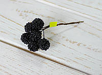 Ежевика искусственная черная 6 шт