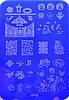 Пластина для стемпинга Stamping Nail Art или штампинг на ногтях