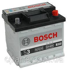 Акумуляторна батарея (45 Ah-400 A) Dacia Solenza (Bosch 0092S30020)(висока якість)