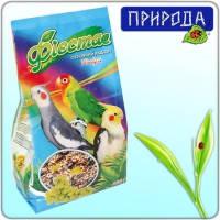 Фиеста Нимфа корм для корелл, нимф, неразлучников и других средних попугаев, 650г
