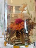 Связанный чай (цветок в чашке)