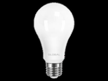 LED лампа GLOBAL A60 12W мягкий свет 220V E27 AL (1-GBL-165) (NEW), фото 2