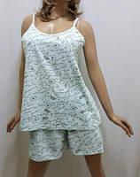 Пижама шорты и майка большого размера от 52 до 58 р-ра, Харьков