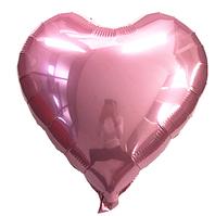 Шар сердце фольгированное, РОЗОВОЕ - 13 см (5 дюймов)