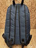 Рюкзак nike/SB Хорошее качество ткань катион матовый с кожаным дном спортивный городской стильный только ОПТ, фото 4