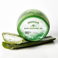 Увлажняющий успокаивающий гель с алоэ вера MISSHA Premium Aloe Soothing Gel 300 мл
