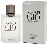 Парфюмерный концентрат Gianni аромат «Acqua di Gio pour homme» Giorgio Armani мужской