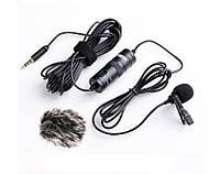BOYA BY-M1 всенаправленный петличный микрофон для смартфона, камеры