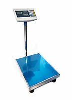 Весы электронные товарные платформенные на 300 кг.