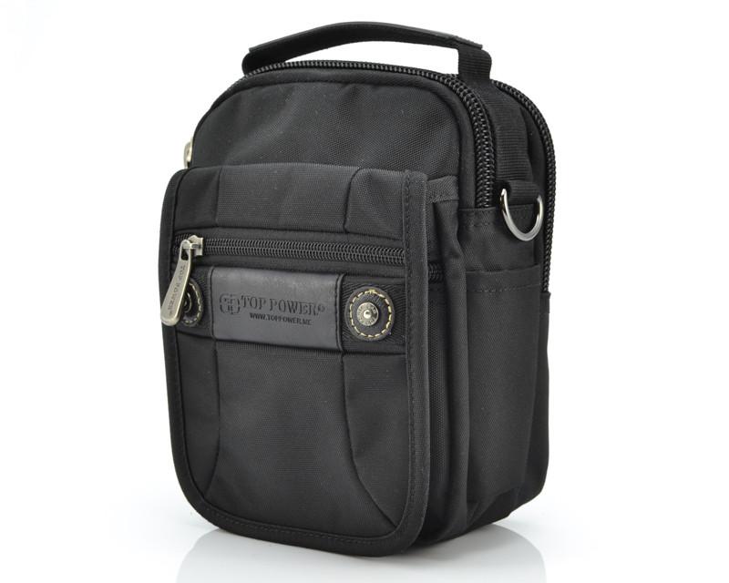 Прочная мужская сумка Top Power 2215 Black