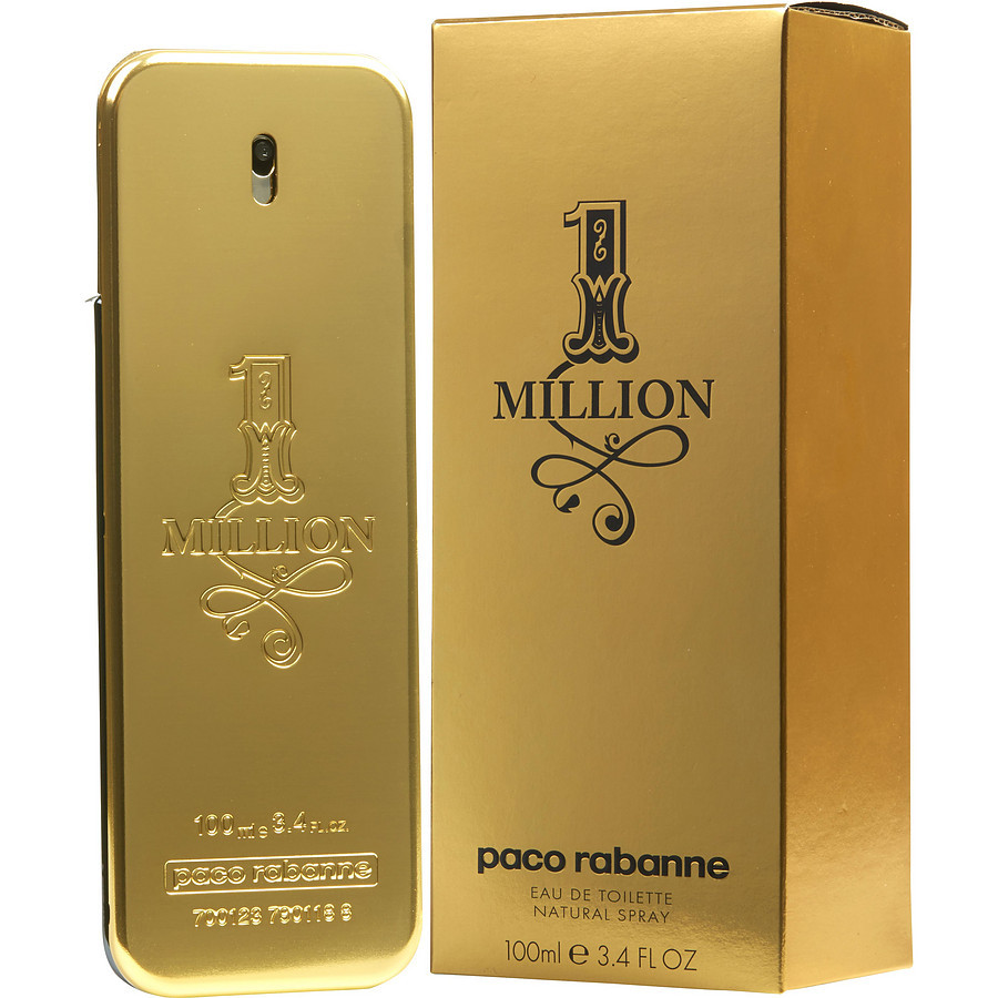 Парфюмерный концентрат Golden boy аромат «1 Million» Paco Rabanne мужской