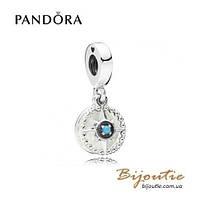 Pandora шарм-подвеска КОМПАС #797196EN23 серебро 925 Пандора оригинал