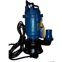 Фекальный насос чугунный корпус с измельчителем и насечками 1,5 кВт Lucon-kenle (гарантия 2 года)