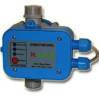 Автоматика для насосов с защитой от сухого хода пресс контроль PC-10 H.World, фото 1