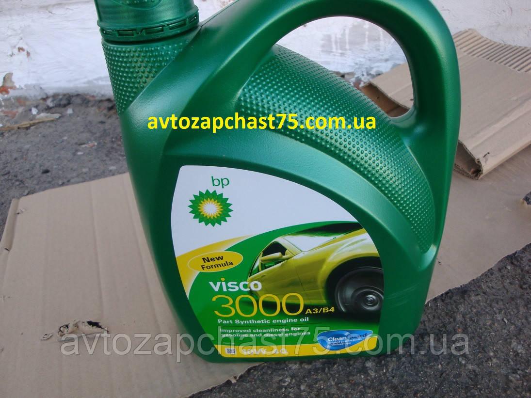 Масло моторное Visco 3000 A3/B4  10W-40, 4 литра, полусинтетика, оригинал (производитель Евросоюз)