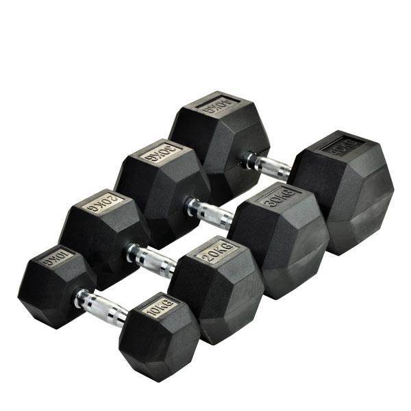 Гантель шестигранна 65 кг DB6101-65