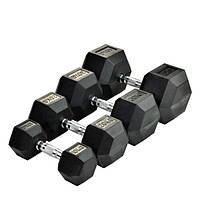 Гантель шестигранная 65 кг DB6101-65