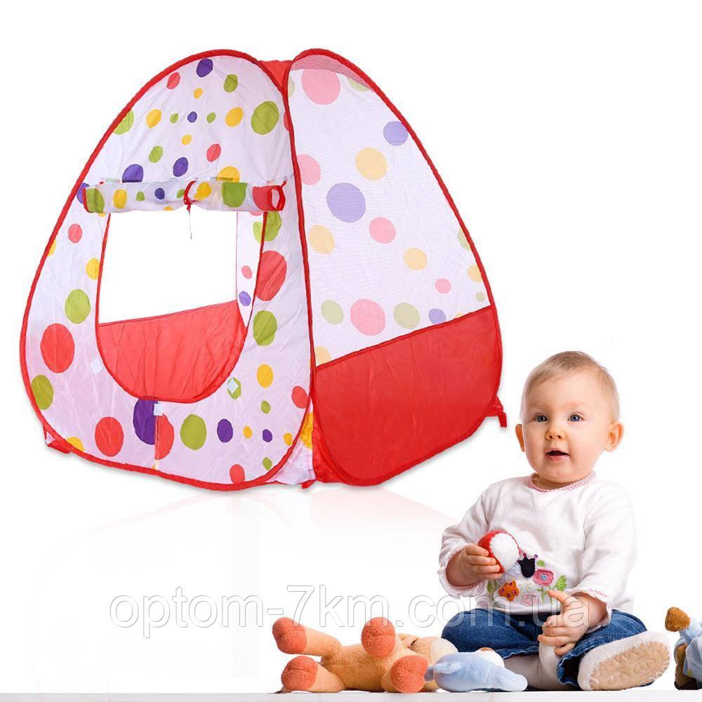Дитячий намет Baby Fun Play Tent в сумці, 90 х 90 см L