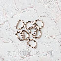 Полукольцо литое PK01 (20 mm), цвет никель