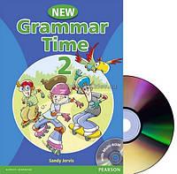 Английский язык   Grammar Time   Student Book+CD. Учебник, 2   Pearson Longman