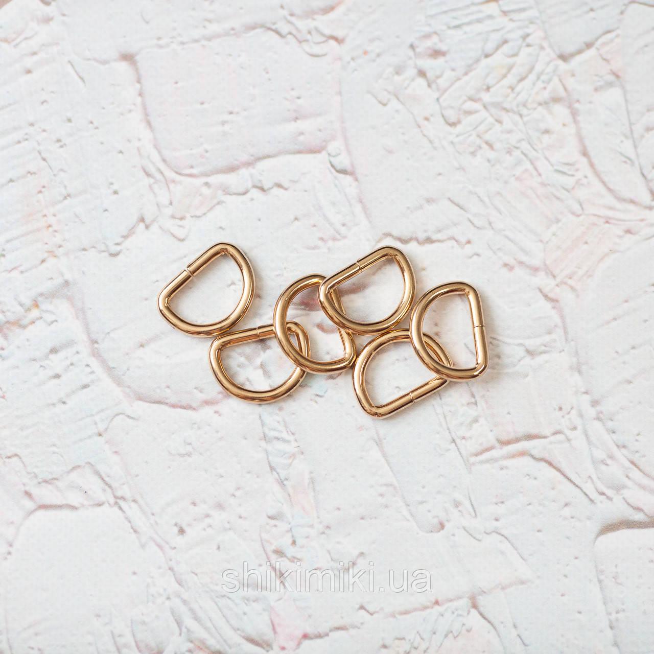 Полукольцо для сумки PK01-3 (20 мм), цвет золото