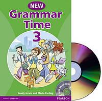 Английский язык   Grammar Time   Student Book+CD. Учебник, 3   Pearson Longman