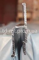Профиль алюминиевый пристенный h образный для натяжных потолков