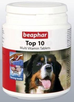 Витамины Беафар Топ 10 для собак №750