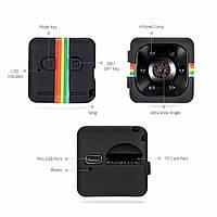 Мини Камера /Видеорегистратор Mini DV Camera SQ11 Quelima Лучше SQ8 /SQ9