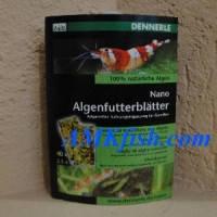 """Dennerle Nano Algenfutterblаtter, натуральные водоросли в виде """"листков"""" 40 шт."""