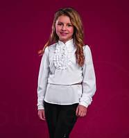Блуза школьная нарядная на девочку Аннет Suzie Размеры 122- 140