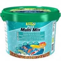 Tetra Pond Multi Mix смесь из нескольких сортов корма, 10л