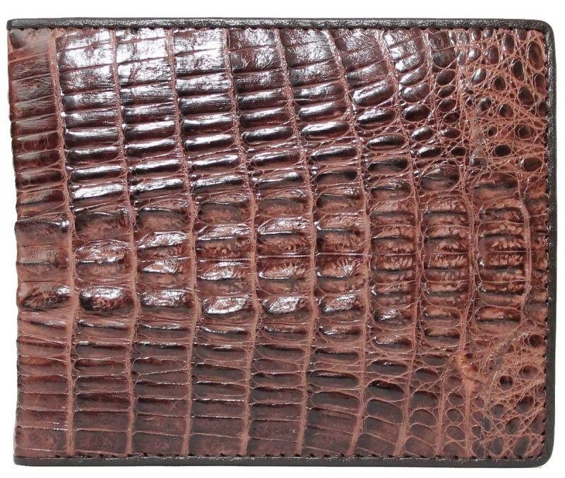 Портмоне из кожи крокодила ALM 3T Brown - Товары из Таиланда оптом и в розницу МангоТанго в Одессе
