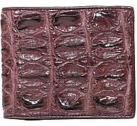 Портмоне из кожи крокодила ALM 04 BT Brown