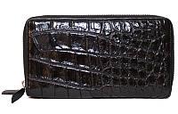 Сумка/кошелёк из кожи крокодила Использована кожа живота, имеет гладкую и мягкую поверхность. ZAM 15 B Black