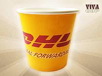 Стакан под кофе 182 мл с нанесением логотипа