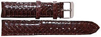 Ремешок для часов из кожи змеи  SNWS 01 Brown