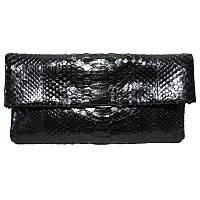 Клатч из кожи питона EXCLUSIVE PTC 105 Black