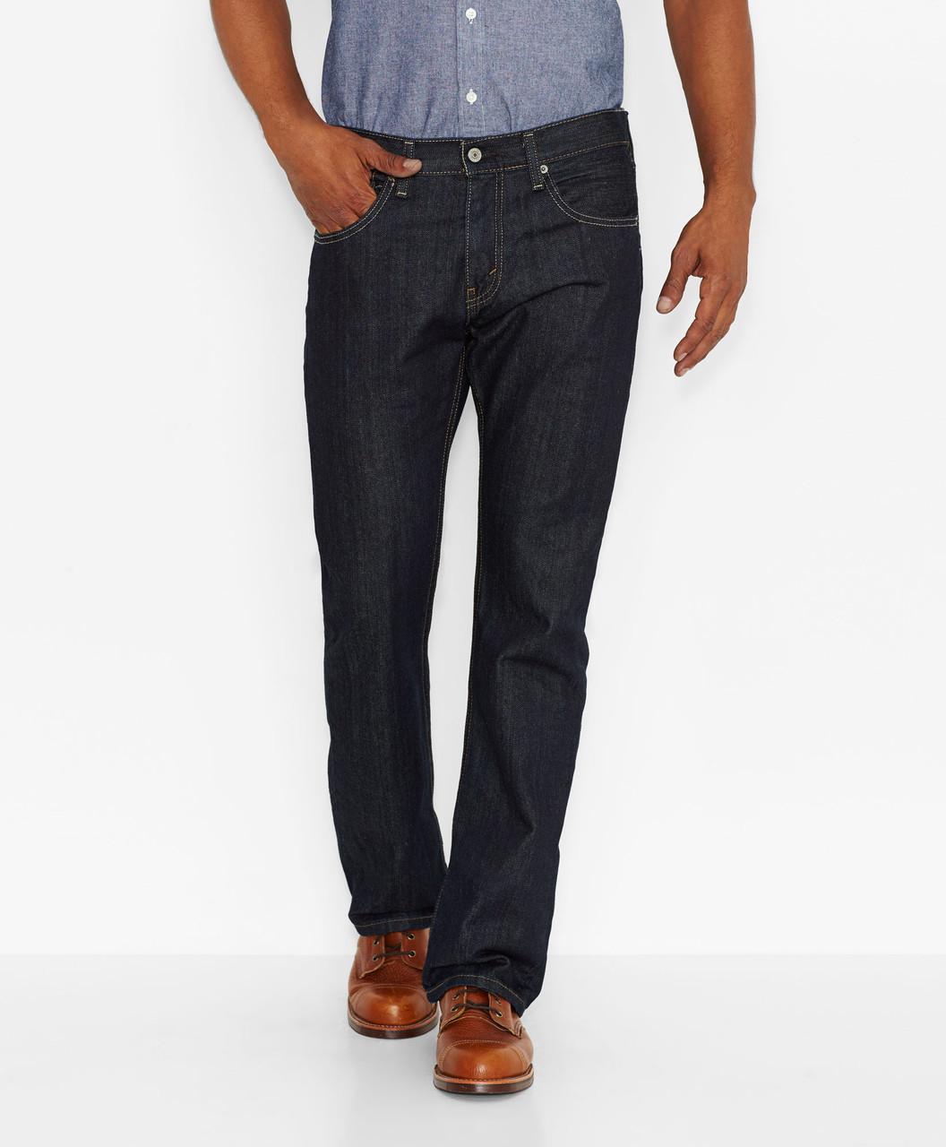 448bd9c3eca Мужские джинсы Levis 527™ Slim Boot Cut Jeans (Tumbled Rigid) черные ...