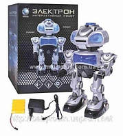 """Интерактивный робот """"Электрон"""" на голосовом управлении от аккумулятора"""